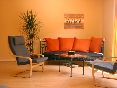 Wohnzimmer Farbe Orange Awesome Wohnzimmer Orange Rot Gallery   House  Design Ideas .